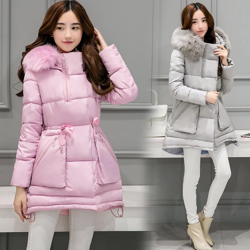 Winter coat women Speed Hiker Winter jacket Women 2017 Mid-long Thicken Warm cotton-padded  Coat ParkasFaux Hooded Jacket forÎäåæäà è àêñåññóàðû<br><br>
