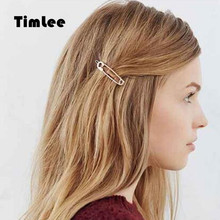 Timlee H098 Free shipping Fashion Hair Accessary   Contracted style Pin  Hair Clips Hairpins Wholesale