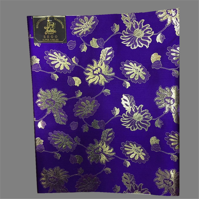 Amazing purple African flower embrodiery sego head tie head bandanas material JTT8-3(2pcs/pack)()