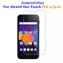 For Alcatel Pixi4 5.0 Tempered Glass 9H 2.5D Premium Screen Protector Film For Alcatel One Touch Pixi 4 (5) 5010D 5045D 5.0""