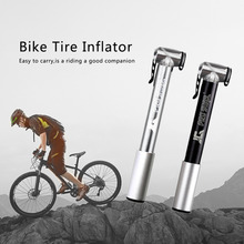Pro Star Portable Bicycle Bike Pump High Pressure Inflator Mini Balloon Type Pump With Bracket Bike Accessories