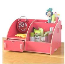 5 colorSimple cute wooden kitchen table decor office organizer cosmetic recieve case drawer storage boxes bins sundries holders(China)