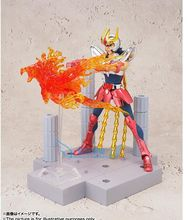 BANDAI D.D.PANORAMATION DDP Phoenix Ikki Saint Seiya pvc action figure with Scenes and effect 10cm tall