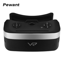 2017 New All In One VR Device 3D Virtual Reality Glasses Octa Core 2G RAM 16G ROM 1920*1080 HD Video Helmet Cinema Wifi VR Box