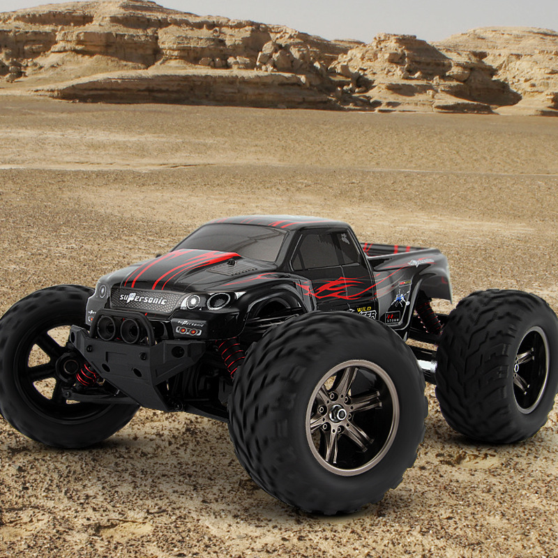 40kmh 2015 New 1/12 scale Electric RC Monster Car Truck Off Road 2.4Ghz 2WD High Speed Remote Controlled Car All included RTR(China (Mainland))