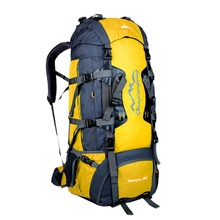 Nylon Professional Outdoor Sports Mountaineering Backpack Travel Camping Hiking Unisex Backpacks 80L