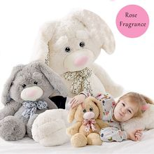 1pc 35cm Stuffed Animal Plush Rose Bunny Soft Pillow Rose Fragrance Cute Plush Toy Super Gift For Kid Girl's Christmas Toy