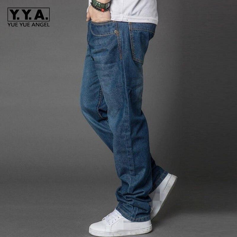 Top Spring New Arrival High Quality Brand Stylish Mens Loose Plus Size Denim Casual Baggy Jeans Long Trousers Cotton PantsÎäåæäà è àêñåññóàðû<br><br>