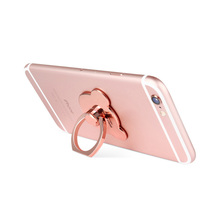 360 Rotatable Phone Back Cover Accessories, Mobile Case Finger Ring Mount, Mini Cell Phone Support, Phone Anti-slip Metal Ring(China)