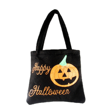 New Fashion Halloween Pumpkin Candy Bag Treat or Trick Candy Gift Storage Pouch Hand Shopping Bag #250805