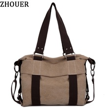 2017 New Korean retro canvas Messenger Bag College Wind Casual Crossbody School Bag ladies shoulder handbag PP12(China)