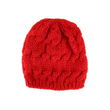 1 PC Lovely Comfortable Knitted Baggy Women Hat Crochet Braided Skull Cap Ski Beanies Autumn Winter Warm Hat