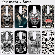 TAOYUNXI Mobile Phone Cases For Motorola Moto X Force Cover XT1585 XT1581 Motorola Droid Turbo 2 XT1580 Soft TPU Silicon Skin(China)