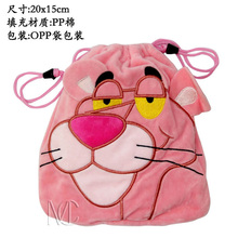 Anime/Cartoon The Pink Panther Jewelry/Cell Phone Drawstring Pouch/Wedding Party Gift Bag (DRAPH_17)