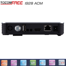 2017 Digital satellite receiver tocomfree i928ACM one dish iks free and support newcam work good for Latin America