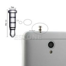 1PC Klick Quick Button Dustproof Plug For Andriod Smartphone 3.5mm Jack(China)