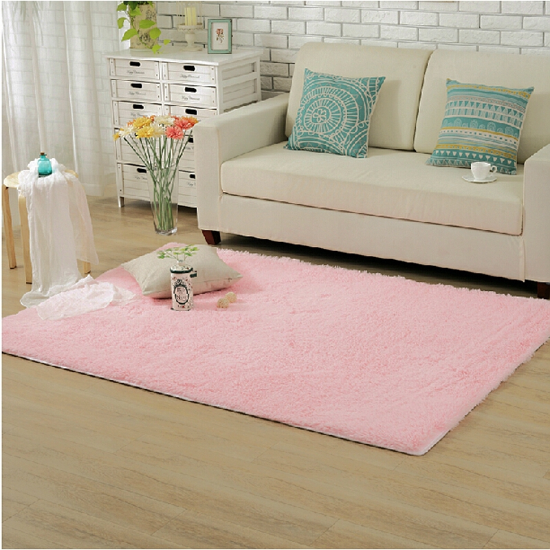 Home Supplies 140*200cm Plush Large Carpet Area Rugs Slip Resistant ...
