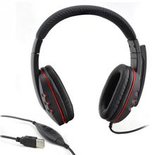 Gaming Headset with Stereo Surround Sound Microphone Over Ear 3.5mm Headphones For PS3 PS4 PC Smartphone(China)