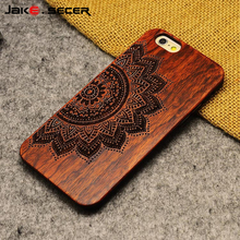 For Apple iphone 6 Case Cover Best Full Phone Protective Accessories Luxury Hard Wooden for Case iphone 6 s 6s Plus 5 5s SE 5se(China)