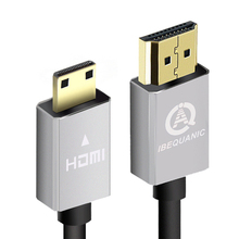 High speed Gold Plated HDMI TO MINI HDMI Cable 1m 2m 3m 5m Plug Male-Male HDMI 1080p 3D for TABLETS DVD(China)