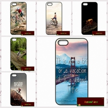mountain bike Bicycle MTB Cover case for iphone 4 4s 5 5s 5c 6 6s plus samsung galaxy S3 S4 mini S5 S6 Note 2 3 4   UJ1167