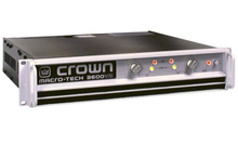 Professional Audio AMP CROWN MA-3600VZ Macro-Tech Series Power Amplifier 1800W-2 Ohms, 1565W-4 Ohms