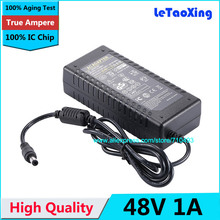 High Quality IC Chip AC 100V-240V Converter DC 48V 1A Power Supply Adapter 48W Adaptor For LED Strip Light Display LCD Monitor