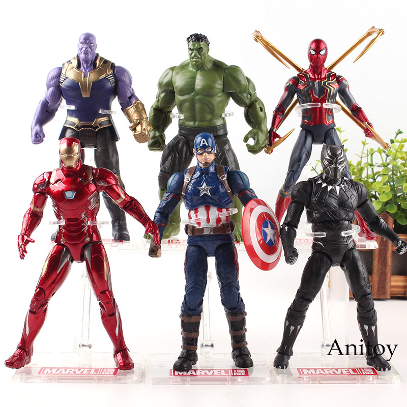 Captain America Civil War Mavel Legends Man Action Figure Collection Toy Gift FR