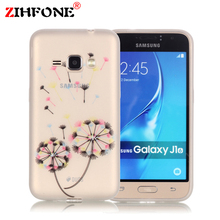 For Coque Samsung Galaxy J1 2016 Case Silicone Cartoon Phone Case Samsung Galaxy J1 6 2016 Case J120 J120F Luminous Back Cover