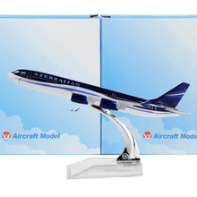 Azerbaijan Airlines Airbus 340 16cm airplane child Birthday gift plane models toys Free Shipwping Christmas gift