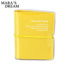 Mara's Dream New Fashion Men & Women Credit Card Holder/Case card holder Wallet Candy Color Business Cards Bag ID Holders(China)