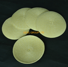 NEW Natural 14cm Round PP base straw base Disc base fascinator base for kentucky derby.