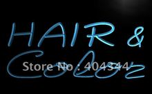 LB564- Hair & Color Salon Cutting Shop   LED Neon Light Sign   home decor shop crafts