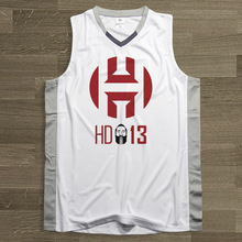 SYNSLOVEN Men design Basketball Jersey top Uniforms no.13 james harden Sports clothing mesh Breathable plus size customize(China)