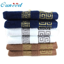 Ouneed 100% Cotton Solid Color towels Large Bath Sheet Bath Towel Hand Towel Face New U61223