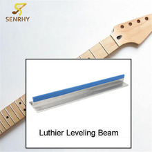 "SENRHY Guitar Techs Long Span 9.8"" Fretboard Fret Leveling/Sanding Beam Stringed Instrument Guitar Tools Accessories Hot Sale"
