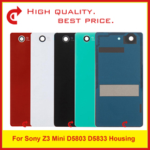 High Quality Sony Xperia Z3 Compact Z3 Mini D5803 D5833 Battery Cover Door Rear Housing Cover Chassis Frame Back Cover