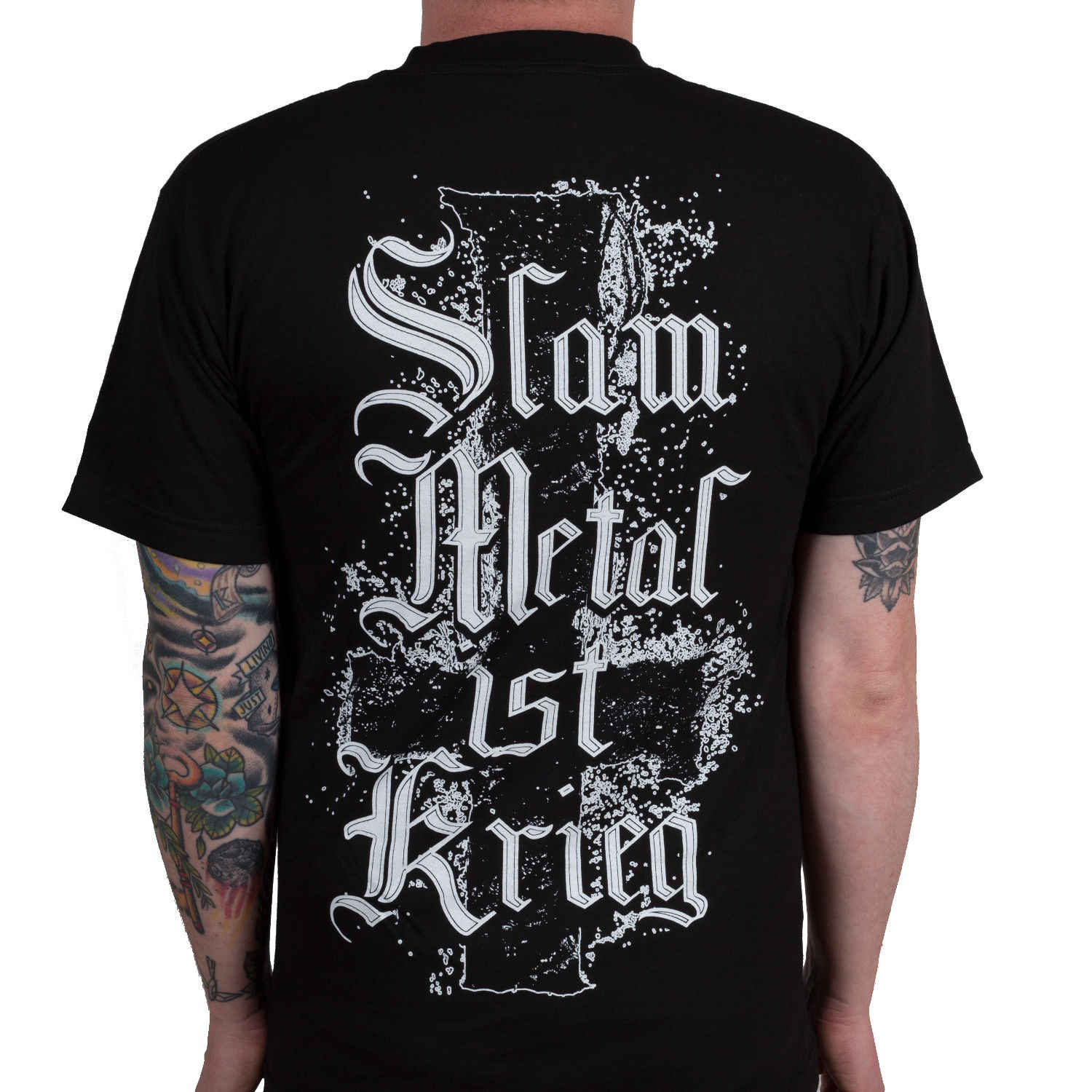 Authentic INGESTED Band Slam Metal Ist Krieg Deathcore T-Shirt NEW Unisex  Fashion T- abae89e4a204