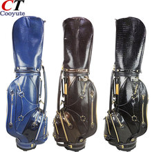 Cooyute New Golf bag High quality PU Golf clubs bag in choice 9.5 inch HONMA Golf Cart bag Free shipping(China)