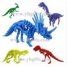 5PCS/LOT,Foam dinosaur puzzles,Foam animal puzzle,Kids toys,Early ducatonal toys,Birthday gift,Kids party favor,5 design.(China)