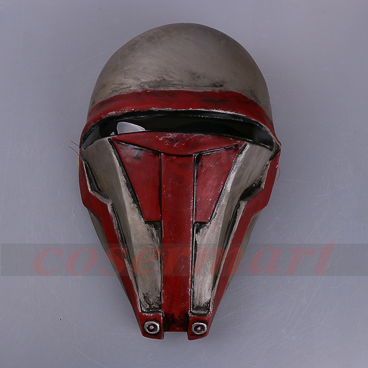Movie Star Wars Knights of the Old Republic Darth Revan Mask Cosplay Helmet Masks Adult Latex Halloween Party Prop (2)