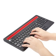 Hot Ultra Slim Fashion External Wireless Bluetooth Keyboard With Multi-touch Touchpad For Ipad Android Laptop Computer Dec4