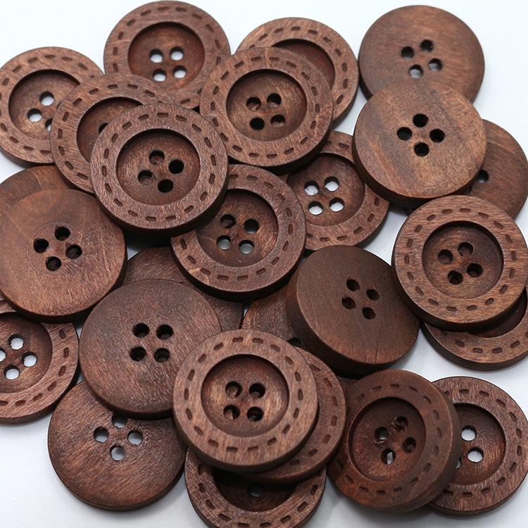100-pz-Professionale-marcatura-laser-legno-naturale-occhi-rotondi-di-quattro-figli-bordata-deluse-bottoni-della (3)