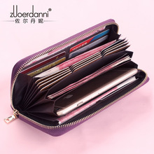Buy Genuine cow Leather anti theft 20 Card Holder Credit Card Case Organizer passport Wallet Men RFID Blocking card Wallets Purse for $15.63 in AliExpress store