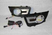 Car styling For KIA Sportage 2008 2009 2010 2011 2012 2013 LED DRL Daytime Running Lights Daylight Fog light