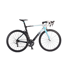 High quaility 22 Speed 700c Complete Carbon Fibre Racing Road Bike V Brake 6800 groupsets(China)