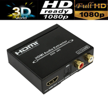 UHD 4K HDMI audio extractor V 1.4 HDMI to HDMI Optical SPDIF+L/R audio with HDMI ARC function