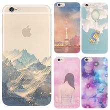 Hard PC Phone Cover Cases For Apple iPhone 4 4S 5 5S SE 5C 6 6S 6Plus 6S + Case Harajuku Rose Style Tidal Current Dynamic