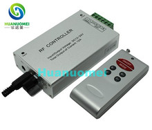 6keys LED RF Wireless Audio Controller; DC12-24V input; Output: 3channels, 4A each channel; Output power:12V<144W,24V<288W