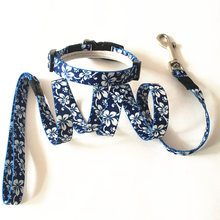 Free Shipping brand name cheap pet collar and leash set nylon pet dog Collar & Leads High Quality for Chihuahua Poodle Pitbull(China)